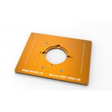 Пластина в стол для фрезера Dag-tools Bosch GOF 2000 CE
