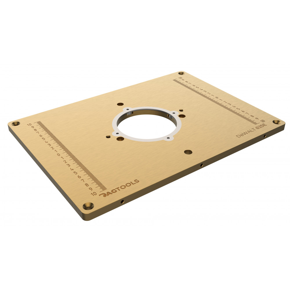 Router plate  DeWALT 625E Dag-tools