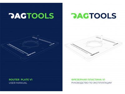 "Guide and description "" Dag-TOOLS v1 Milling plate"""