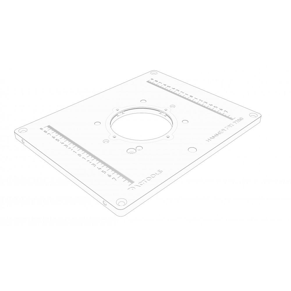 Milling plate Dag-tools Hammer FRZ 2200