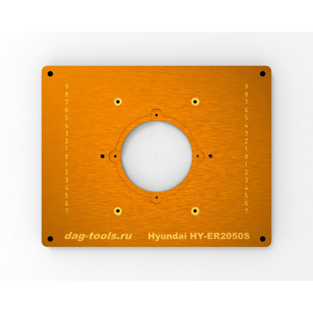 Milling plate Dag-tools Makita 2300 ( RP2301FC ) v1