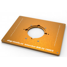 Milling plate Dag-tools Interskol FM 32 1900E