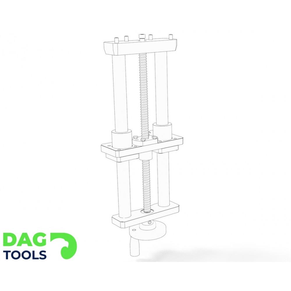 Precision router lift Dag-tools v1