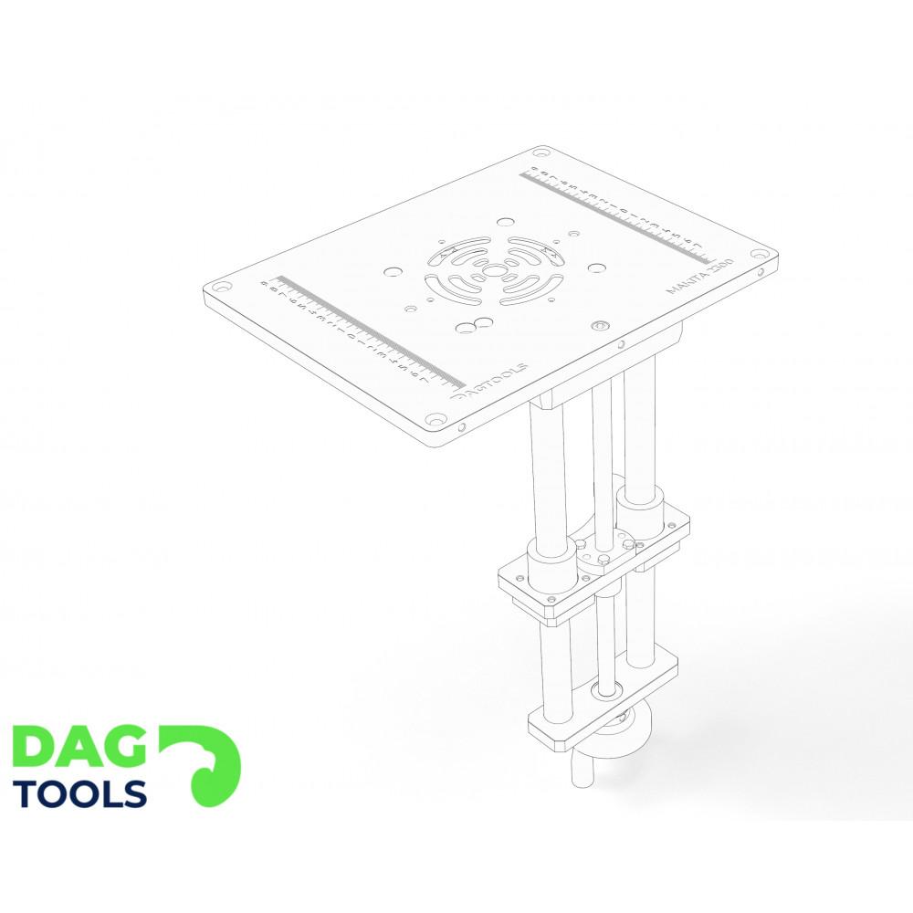 Dag-tools precision router lift v2