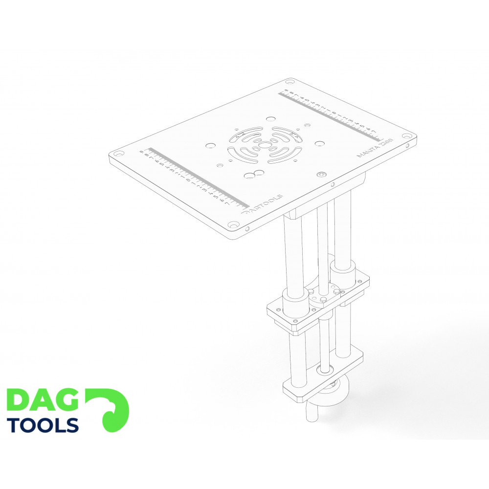 Dag-tools precision router lift v2